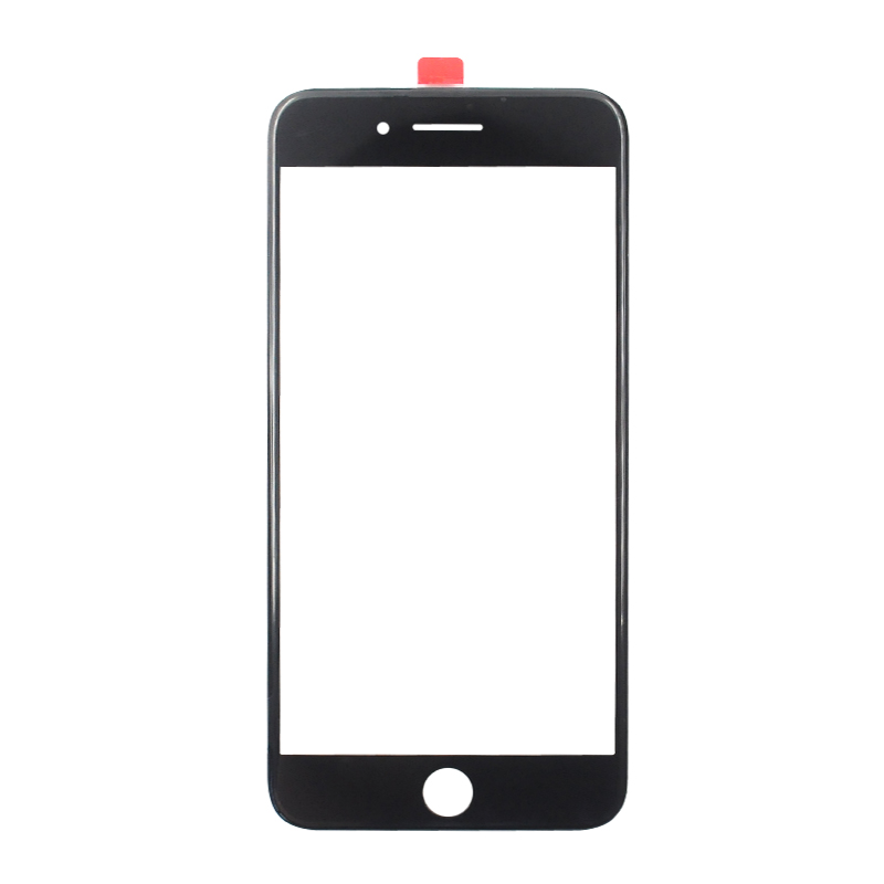 Wozniak Free Shipping Original Cold Press Front Outer Touch Screen Glass Lens With Frame OCA Film For iPhone 6 6s 6sp 7 plus outer lcd screen lens top glass for lg g2 d800 d801 d802 d803 d805 ls980 e940 black or white original new free shipping