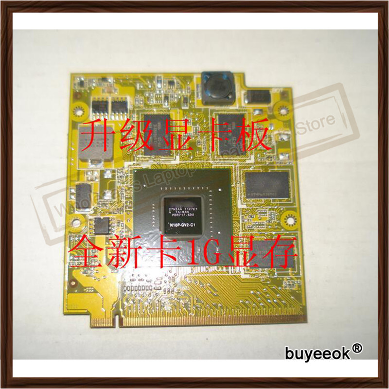 Original 1GB Z99S F8S F8SV F8SG F8SN A8S X81S GT220M Graphic Card For ASUS N10P-GV2-C1 Video Card GPU Replacement Tested laser printer spare parts for minolta cf2203 image unit drum chip