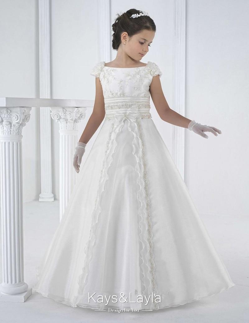 Popular White Communion Dress-Buy Cheap White Communion Dress lots ...