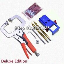 Мини-набор Крег с карманным отверстием для деревообработки и столярных работ+ ступенчатое сверло и аксессуары набор инструментов для деревообработки