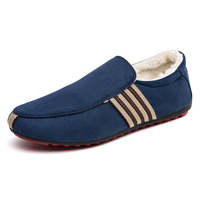 Men Canvas Rubber Soled Shoes Spring And Autumn Slip On Plus Casual Fashion Vulcanized Shoes