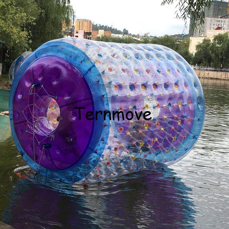 Rouleau à bulles coloré, boule de marche de l'eau, Tube gonflable de roulement de l'eau à vendre boule de roulement de marche de l'eau