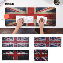 Babaite  UK Flag Office Mice Gamer Soft Mouse Pad Speed/Control Version Large Gaming Mouse Pad evans rf6gm 6 mountable speed pad
