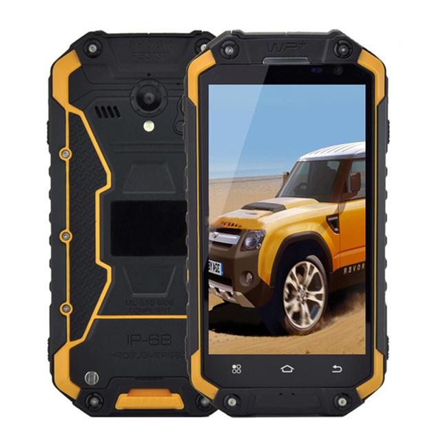 "2016 Original X8G IP68 Robusto Teléfono Impermeable a prueba de Choques Android Teléfono Moble MTK6735 Quad Core 4.7 ""2 GB de RAM 4G Lte BV6000 GPS"