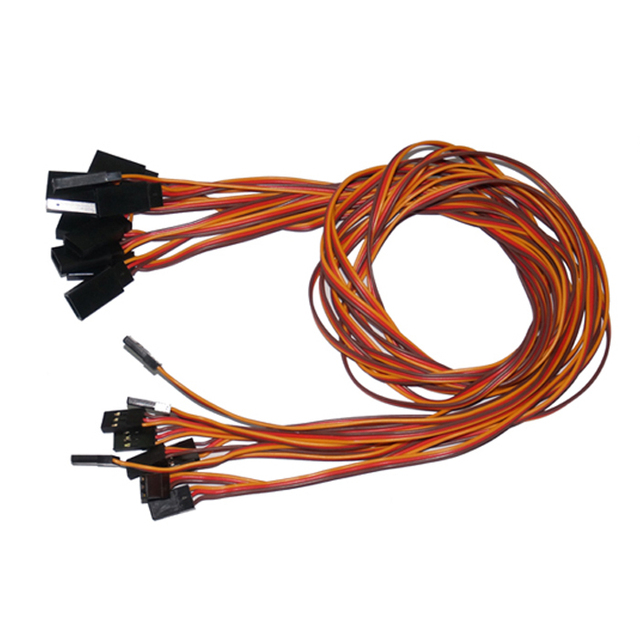 Aliexpress.com : Buy 10pcs/lot 600mm 60cm 26AWG JR male to female ...