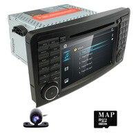 Hizpo 7 INCH GPS Head Unit Car Radio Audio For MERCEDES BENZ ML 164 2005/2006/2007/2008/2009/2010/2011/2012 Navigation 3G RDS EQ