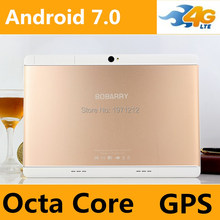 Android 7.0 Tablet PC 10 inch Dual SIM 3G WCDMA 4G LTE Child Tablet 10.1 4GB RAM 64GB ROM Support Play store