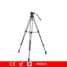 Skilled  Video Cameria Tripod w/hand spinner Fluid Damping Pan Head Equipment for DSLR Digital camera Canon Sony Nikon Heavy Responsibility
