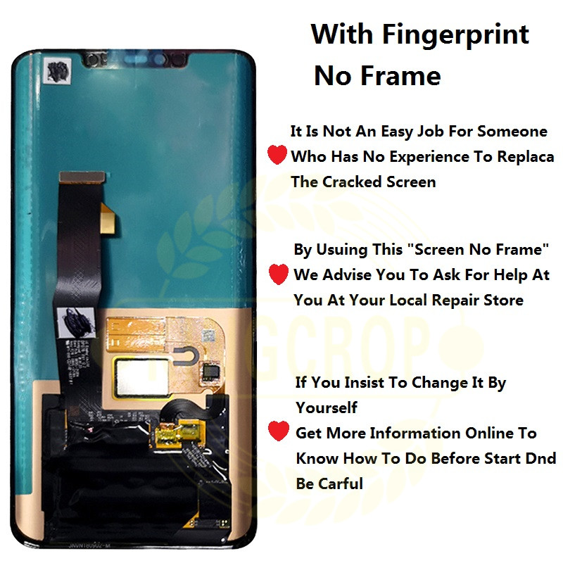 Huawei Mate 20 Pro LCD Display with frame Touch Screen Digitizer Assembly  Repair Mate 20Pro Huawei Mate 20 LCD Mate20 Pro Screen