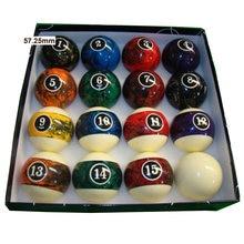 Xmlivet – balles de billard en marbre de 57.2mm, de haute qualité, ensemble complet de 2 balles de 1/4 pouces, neuf
