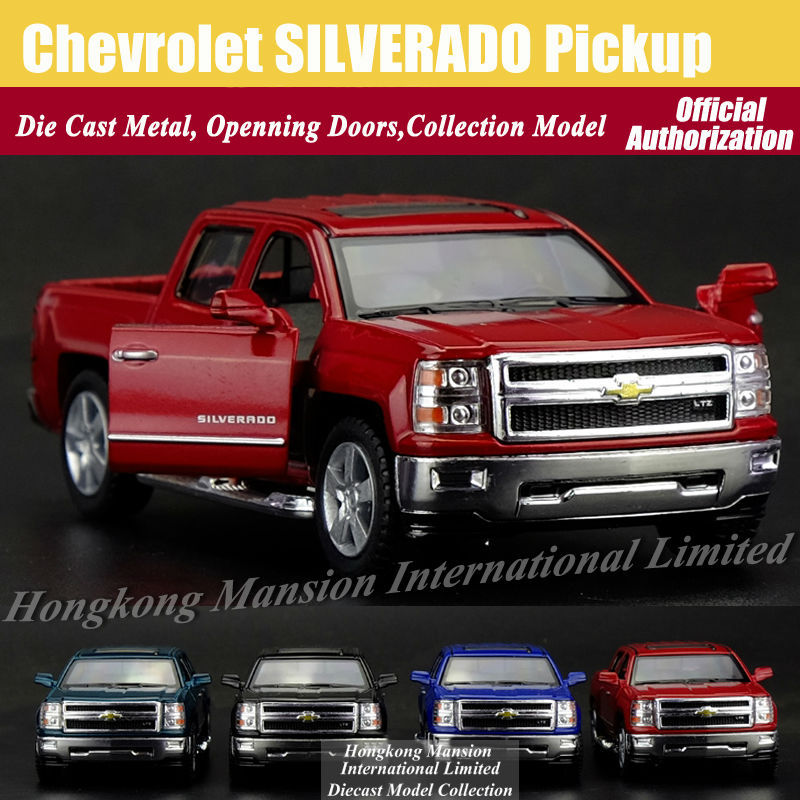 136 Car Model For Chevrolet SILVERADO Pickup (1)