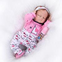 Редкие Ограниченная серия твердого силикона Кукла реборн 50 см Кукла Reborn Детские Реалистичного младенцев Boneca новорожденных BABY ALIVE куклы