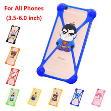 Universal 3.5-6.0 inch Screen Silicone Minnie Covers Cases Coque Fundas For Blackview BV2000 BV2000S Mobile Phone Cover Case