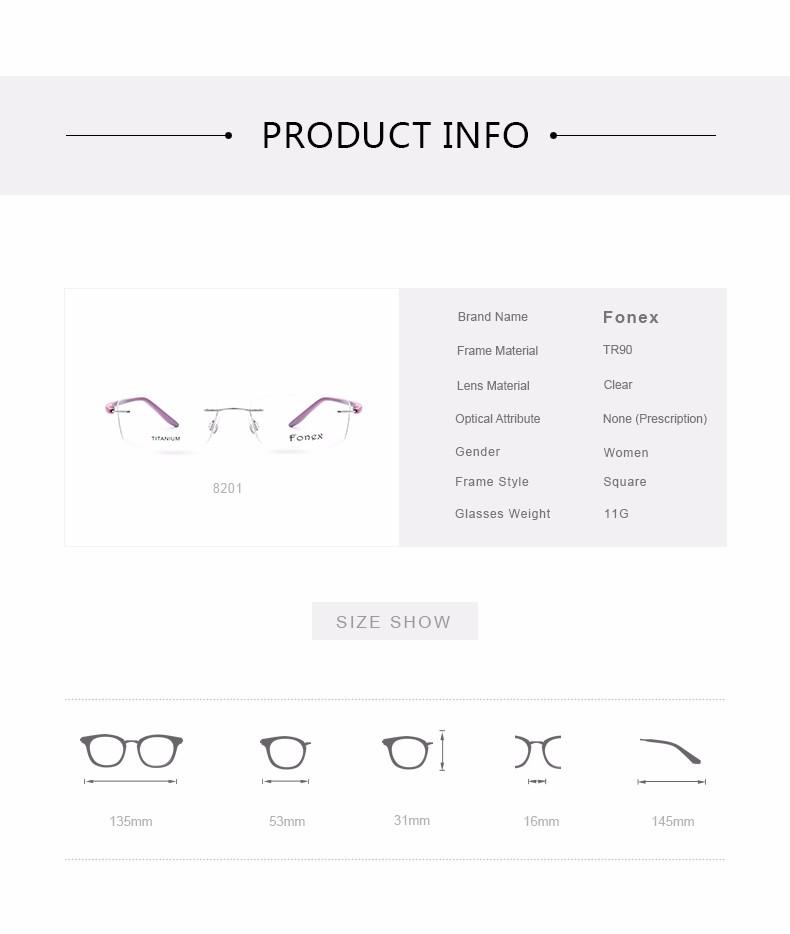 New-Fashion-Titanium-Myopia-Rimless-Glasses-Memory-Eyeglasses-Optical-Frame-TR90-Eyewear-Women-Brand-Designer-8201-FONEX_07
