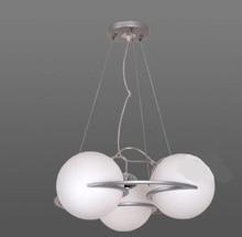 Glaskugel Lampen 3 KOPF Glas Eisen Pendelleuchten Mode Bekleidungsgeschft Kurze Restaurant Dinner Wohnzimmer Lampe Pendelleucht