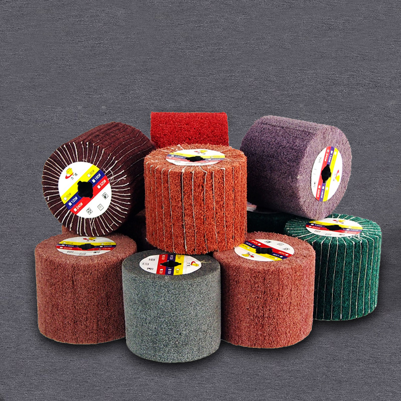 wire drawing polishing Burnishing Machine/Polisher/Sander wheel 120*100*19mm abrasive wheel free shipping drawing wheel 110 100mm drawing wool round 110mm drawing machine round tower wool polishing wheel