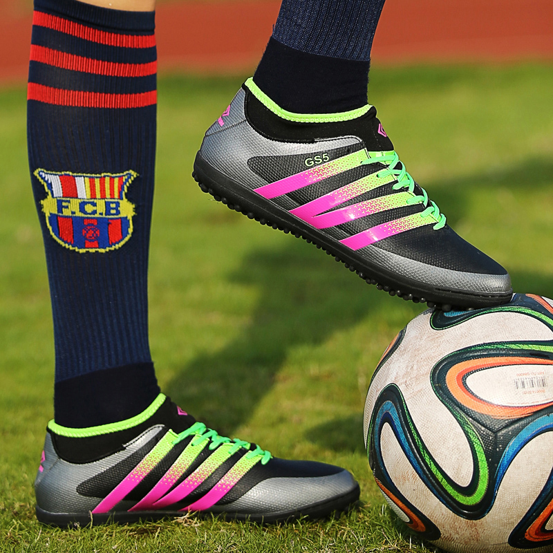3ae79d692 Aliexpress.com : Buy Adult indoor football shoes 2016 kids Futsal shoes for sock  football boots boys soccer cleats man sneakers Free shipping from Reliable  ...