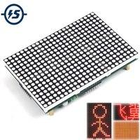 Módulo matriz de LED Pantalla LED de 16x24 celosía módulo 16x24 punto SubtitleText Pantalla Conducción programa Testo Pantalla LED