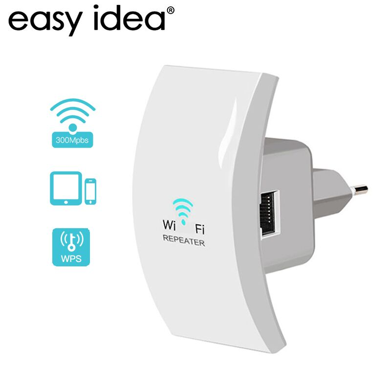 Wifi Repeater 300mbps Wi fi Amplifier 2.4G Wi-Fi Range Extender Mini Wireless Signal Booster Repeater 802.11n/b/g Repetidor Wifi цена
