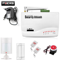 GSM10A English Russian Spansih Voice Prompt SIM Home Security GSM Alarm System Auto Dialing Dialer SMS