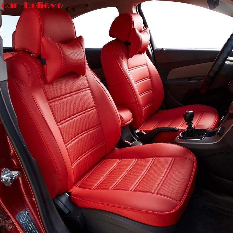Hyundai Soul: Car Believe Auto Automobiles Leather Car Seat Cover For