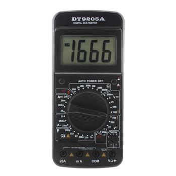 Chuyên nghiệp DT9205A AC DC LCD Hiển Thị Điện Vạn Năng Cầm Tay Tester Meter Kỹ Thuật Số Multimetro Ampe Kế Multitester