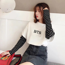 BTS Striped Sweatshirts (2 Models)