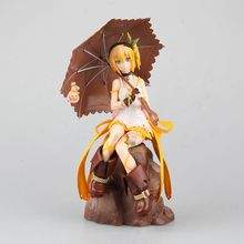 цена на Anime Tales Of Zestiria Edna PVC Action Figure Collectible Model doll toy 20cm