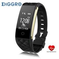 S2 Smart Bracelet Heart Rate Monitor Notification GPS Sport Tracker Remote Camera Smart Band Men Women