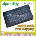 Apexway 4400 мАч аккумулятор для Asus A32-A8 15G10N345800 A8TL751 B991205 15G10N345800 DPC A72DY A72JT A72JU A8A A8N A8S A8H A8J A8T