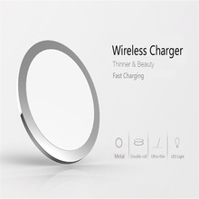 2017 NEW Wireless Charger Fast Charging for iPhone 8 10X Samsung Galaxy S6 S7 S8 galaxy Double Coils Pad 5V/2A & 9V/1.67A Charge