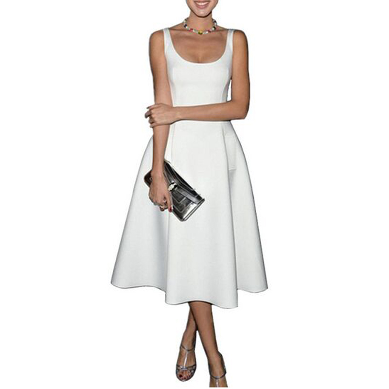 Women Summer Dress 2016 New Fashion Women Vintage A Line