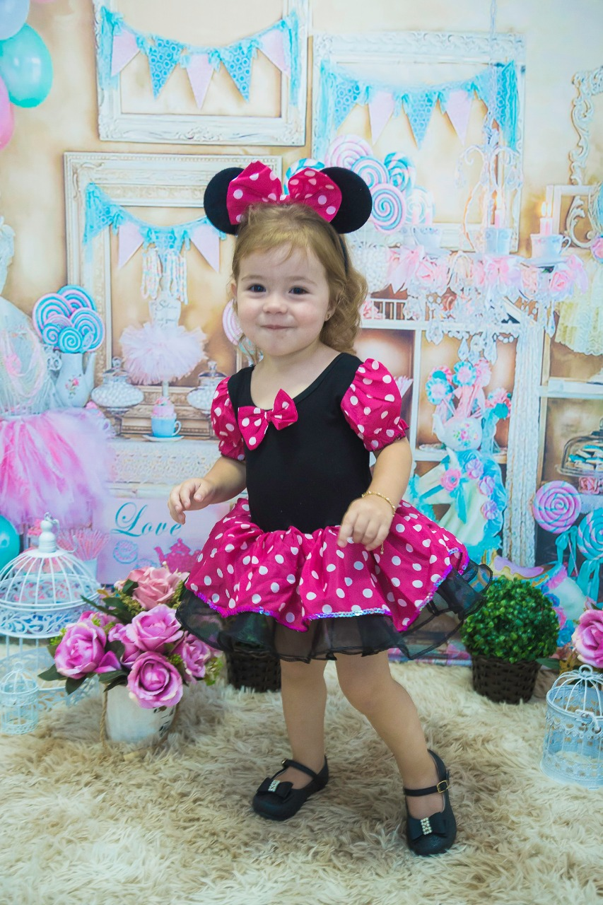 2018 summer Kids Gifts Minnie Party Fancy Costume Cosplay Girls Ballet Tutu Dress+Ear Headband Girls Polka Dot Dress Clothes Bow baby kids dress minnie mouse party fancy costume cosplay girls ballet tutu dress ear headband girl polka dot clothing girl dress