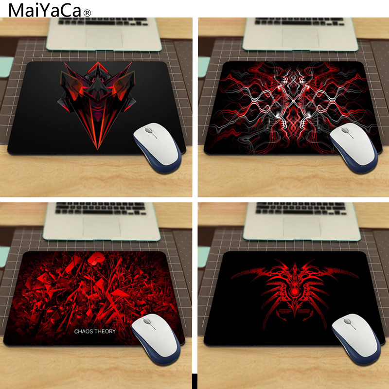MaiYaCa Abstract Red Vitesse Gaming Edition Souris Pad Cool Custom Mouse Pad For Size 18*22cm And 25*29cm