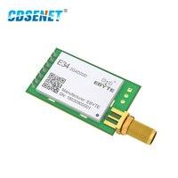 NRF24L01P 2,4 ГГц 20dBm длинный диапазон rf модуль Беспроводной трансивер E34-2G4D20D дуплексный режим 2,4 ГГц nRF24L01 SMA iot передатчик