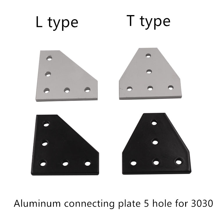 Codo Conector en /ángulo soporte de esquina 30/x 30/x 30/mm 20/pcs