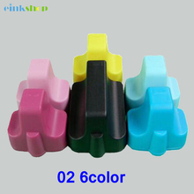 Einkshop for hp 02 for hp02 Ink Cartridge for HP Photosmart C6180 D7360 8250 3110 3210 3310 3310XI D6160 D7160 D7260 C5180 D7460 картридж blossom bs c8721he black для hp photo smart3100 series 3108 3110 3110v 3110xi 3200 series 3210 3210v 3210xi 3213 3300 series 3310 3310xi 3313 8200 series 8230 8238 8250 d7160 d7360 c5180 c6180 page 1 page 4