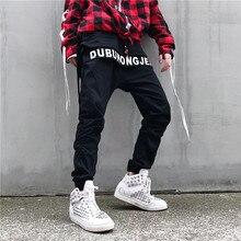 cross Pants 2019 Original Boomers Trend Male Clothes Haren Motion Leisure Time Personality City Boy Exquisite hip hop Fashion цена