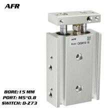 купить SMC Type Dual Rod Cylinder Basic TYPE double cylinder / double shaft cylinder CXSM15-10 CXSM15-15 CXSM15-20 -Z73 -Y59A дешево