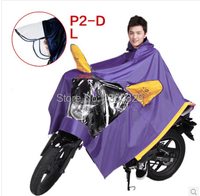 Red Purple burberry_ men Plus Size Poncho Womens Long Raincoats Blue Motocycle Waterproof Cloak Transparent Anti Floating Coat