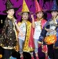 2016 hot Girl Manto Bruja de Halloween Niños de Disfraces Fiesta de Disfraces de Adultos Cosplay Ropa gabardina