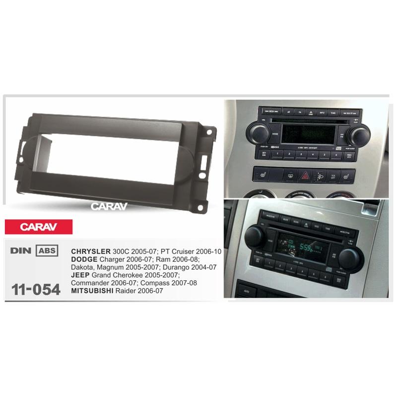 1 din radio fascia for chrysler 300c dodge charger jeep. Black Bedroom Furniture Sets. Home Design Ideas