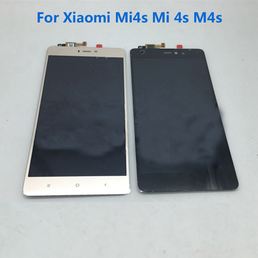 IN STOCK !!! Best Working Mi4S LCD Display +Touch Screen Digitizer Assembly For XiaoMi Mi 4S M4S Mi4S Mobile Phone Repair Parts