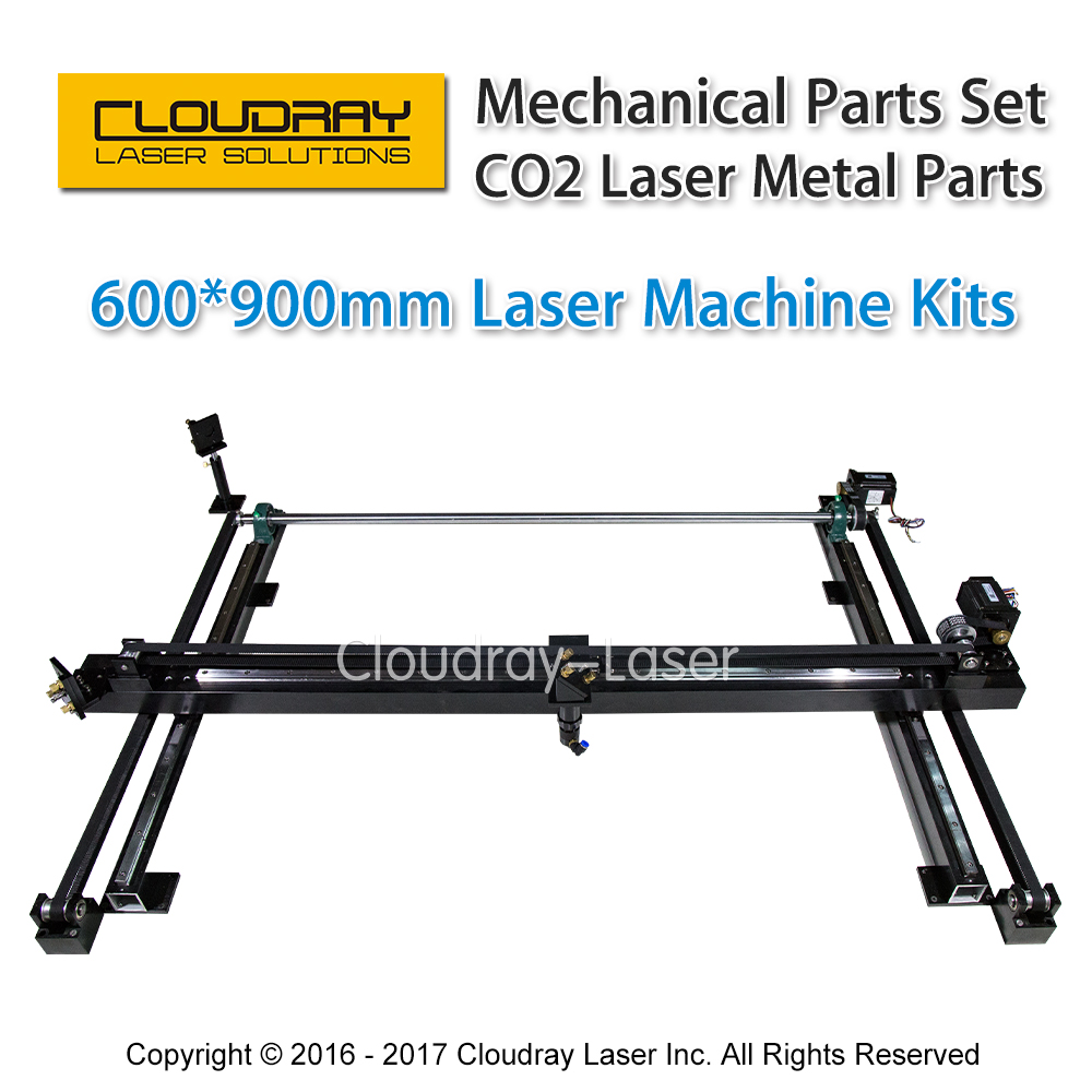 Mechanical Parts Set 600mm*900mm Single Head Laser Kits Spare Parts for DIY CO2 Laser 6090 CO2 Laser Engraving Cutting Machine co2 laser machine spare parts s