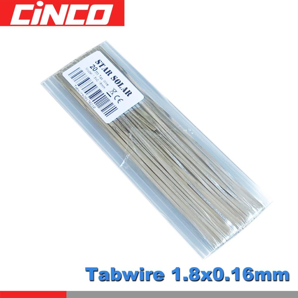 Tabbing Bus Bar Wire Strip Tab Solar Cell Panel DIY PV Ribbon Connect 20M 66ft