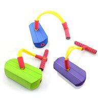Высокое качество резиновые прыжки для детей звуковая игрушка отказов Обувь прыжки ходулях спортивные Игрушечные лошадки веревка прыжки Фи...