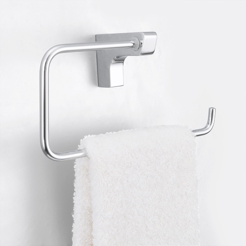 Chrome Towel Rack Wall Mounted Part - 39: Aliexpress.com : Buy JOMOO Modern Style Wall Mount Towel Ring Chrome Towel  Holder Round Shape Solid Brass Bathroom Accessories Bath Hanger 934806 From  ...