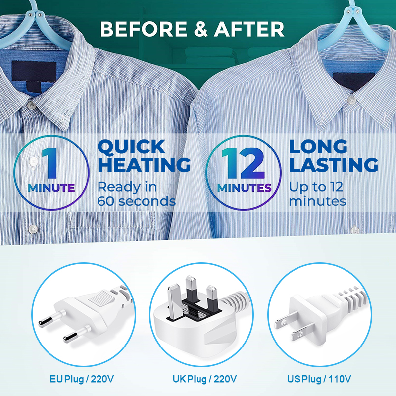 new portable mini handheld garment steamer iron for home and travel