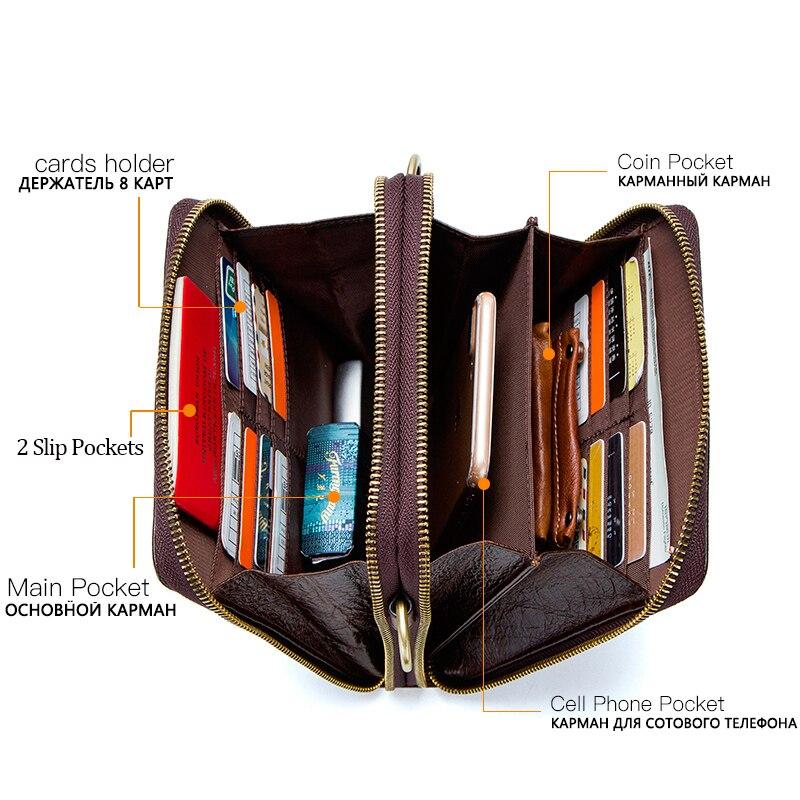Men's Genuine Leather messenger bag Vintage Shoulder Bags Crocodile Crossbody Bags for men with Mobile Phone Pouch Waist Bag 2