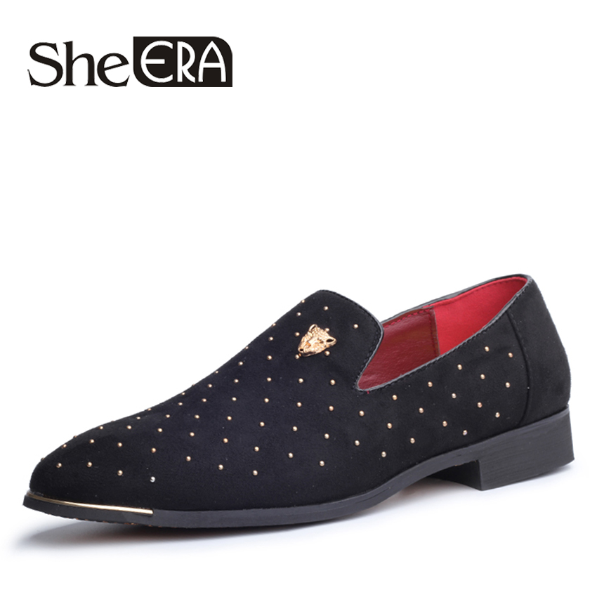 Men Shoes Flats-Loafers Moccasins Slip-On Men's Fashion Male